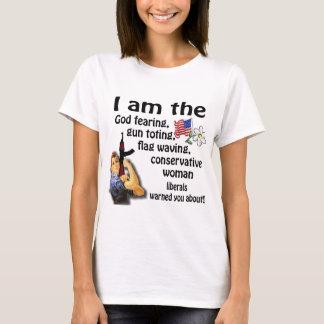 Conservative Woman T-Shirt