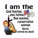 Conservative Woman shirt