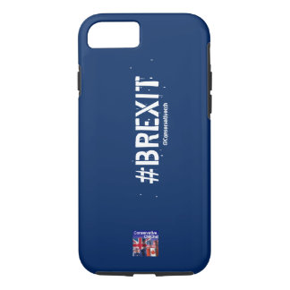 ConservativeChitChat #Brexit Phone Case: iPhone 8/7 Case