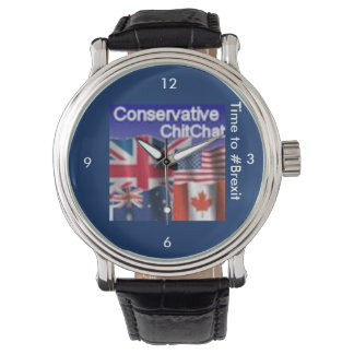 ConservativeChitChat #Brexit Wrist Watch