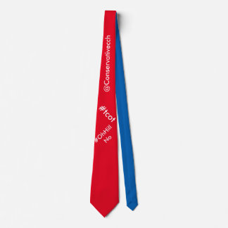 ConservativeChitChat #tcot / #OhHillNo Tie