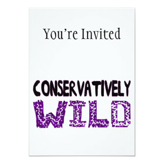 Conservatively Wild Card