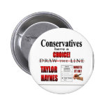 Conservatives have a choice pinback button