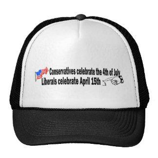 Conservatives vs. Liberals Trucker Hat