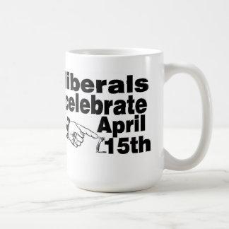 Conservatives vs. Liberals mug