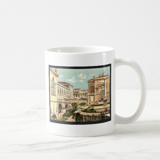 Conservatoire de musique et la bibliotheque, Marse Coffee Mugs