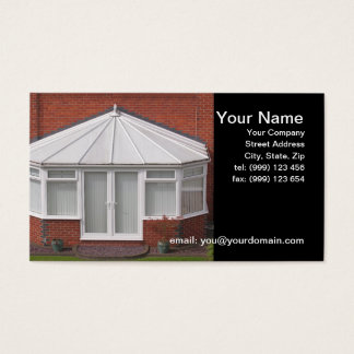 Conservatory Business Card