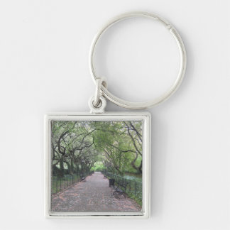 Conservatory Garden Central Park NYC Photography Keychain