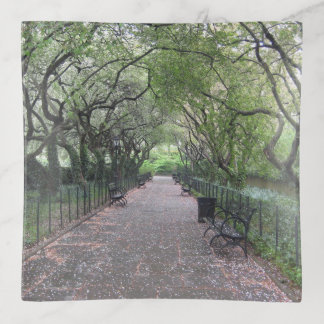 Conservatory Garden Central Park NYC Photography Trinket Trays