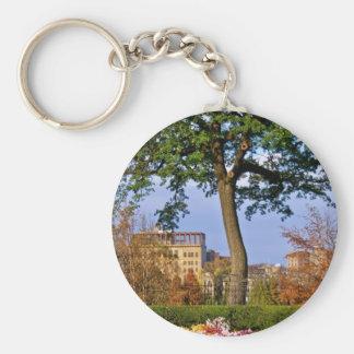 Conservatory Garden keychain