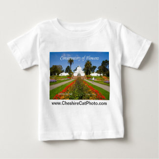 Conservatory of Flowers GGPark California Products Baby T-Shirt