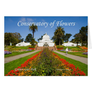 Conservatory of Flowers GGPark California Products Card