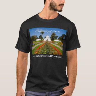 Conservatory of Flowers GGPark California Products T-Shirt