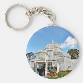 Conservatory Of Flowers In Golden Gate Park In San Keychain