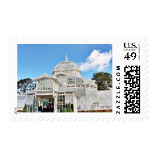Conservatory Of Flowers In Golden Gate Park In San Postage Stamps