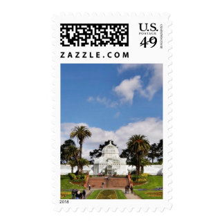 Conservatory Of Flowers In San Franciscos Golden G Postage Stamps