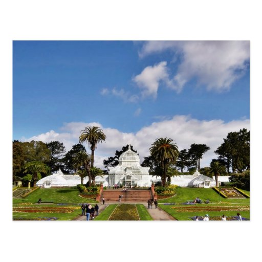 Conservatory Of Flowers In San Franciscos Golden G Postcards