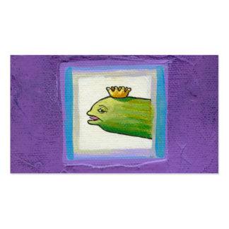 Conserve en vinagre el arte único extraño de la or plantilla de tarjeta de visita