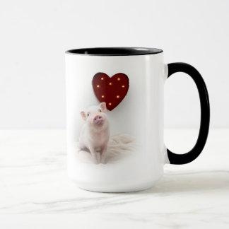 Conserve en vinagre la taza del corazón de cerdo