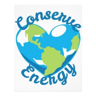 Conserve Energy Letterhead
