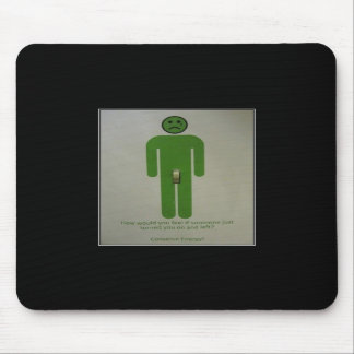Conserve Energy Mouse Pad