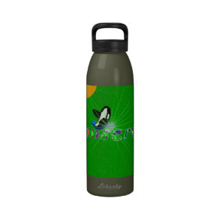 Conserve Mother Earth Killer Whale water bottle