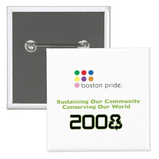 Conserve Square 2 Inch Square Button