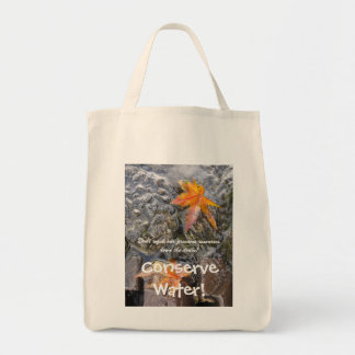 Conserve Water! Bag
