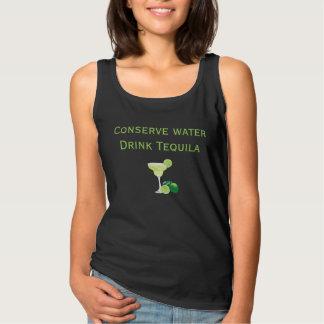 Conserve Water Drink Tequila Margarita Tank Top