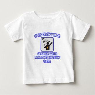 Conserve Water .. Shower w Someone Battling OCD T-shirt
