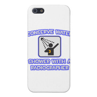 Conserve Water .. Shower With a Radiographer Covers For iPhone 5