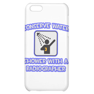 Conserve Water .. Shower With a Radiographer Cover For iPhone 5C