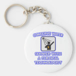 Conserve Water .. Shower With a Surgical Tech Key Chain
