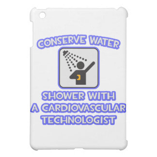 Conserve Water .. Shower With Cardiovascular Tech iPad Mini Cases