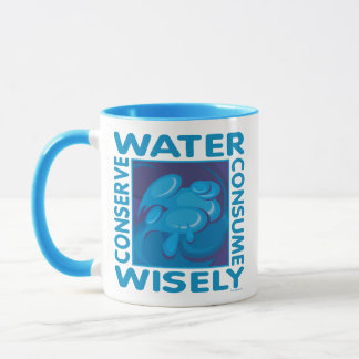 Conserve Water - Use Wisely Mug