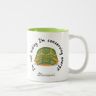 Conserving Energy Two-Tone Mug