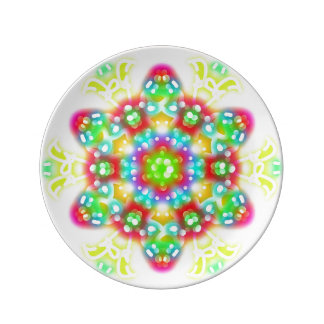 """Consider the Lilies 8.5"""" Porcelain Plate"""