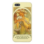 Consider the Lilies of the Field Alphonse Mucha Cases For iPhone 5