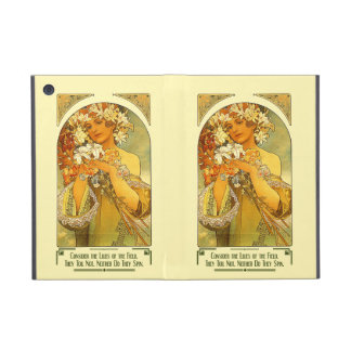 Consider the Lilies of the Field Alphonse Mucha Case For iPad Mini