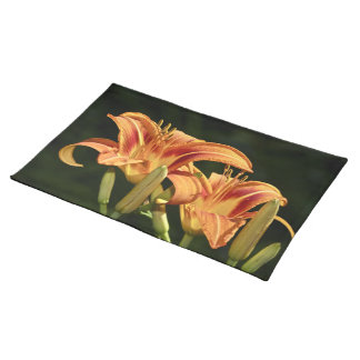 Consider The Lilies Of The Field Cloth Place Mat