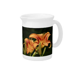 Consider The Lilies Of The Field Drink Pitcher