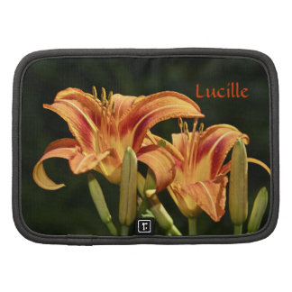 Consider The Lilies Of The Field Folio Planner