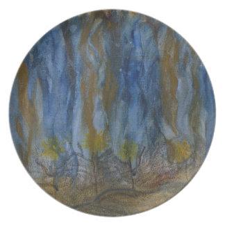 Consider_the_Wildflowers16200.JPG Melamine Plate