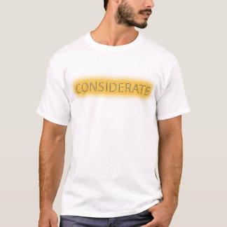 Considerate (White) T-Shirt
