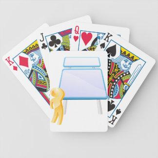 Considering options card decks