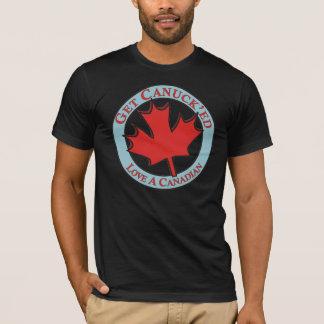Consiga a amor de Canuck'ed un canadiense Playera