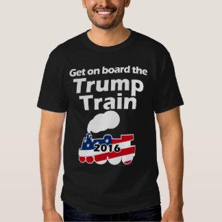Consiga a bordo del tren Donald Trump para el Remera