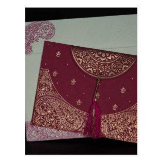 Consiga a diseñador las invitaciones de boda tarjeta postal