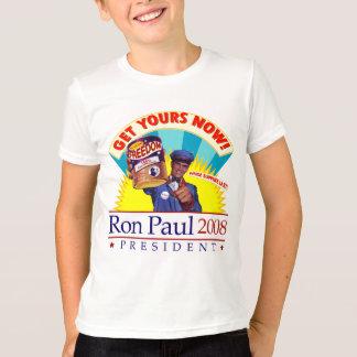 Consiga a libertad Ron Paul la camiseta