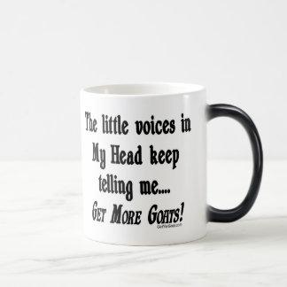 Consiga a más cabras la cabra divertida taza de café